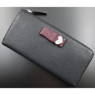 Paul Smith - お買い得☆未使用品箱なし ポールスミス 人気リボンデザイン 長財布 黒