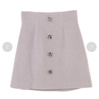 31 Sons de mode - トランテアン ビジュー付きスカート  未使用