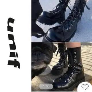 ユニフ(UNIF)のunif ブーツ(ブーツ)