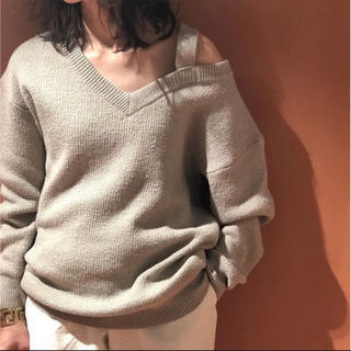 BEAUTY&YOUTH UNITED ARROWS - roku  beauty&youth V NECK KNIT PULLOVER