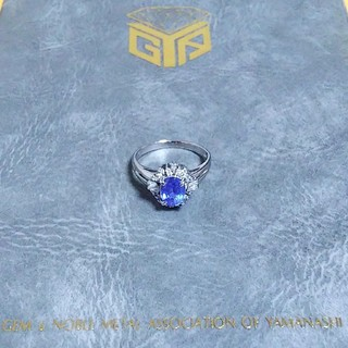 pt900 タンザナイトリング(リング(指輪))