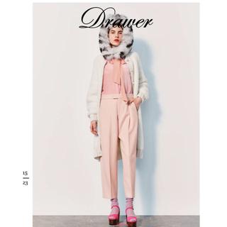 Drawer - 【新品未使用】2019aw ドゥロワー タックパンツ