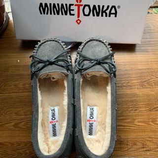Minnetonka - 新品❣️未使用❣️ミネトンカ 24cm グレー
