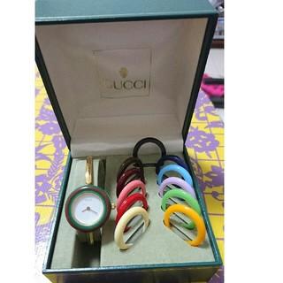 グッチ(Gucci)のGUCCI グッチ腕時計  チェンジベゼル(腕時計)