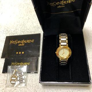Saint Laurent - イヴサンローラン アナログ腕時計 レデォースクォーツ