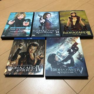 SONY - バイオハザード DVD&Blu-ray セット 1〜5
