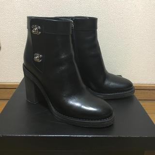 CHANEL - 【本日のみ♡】シャネルブーツ♡CHANELターンロックショートブーツ