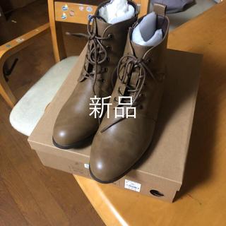 スタディオクリップ(STUDIO CLIP)のレースアップブーツ(ブーツ)
