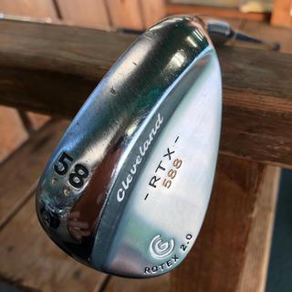 クリーブランドゴルフ(Cleveland Golf)のクリーブランド RTX588   58°  ウェッジ  (クラブ)