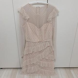 ビーシービージーマックスアズリア(BCBGMAXAZRIA)のBCBG MAXAZRIA ドレス ワンピース(ひざ丈ワンピース)