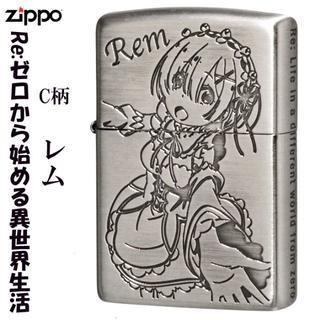 ZIPPO - ZIPPO/レム Re:ゼロから始める異世界生活ジッポー銀サテン古美C