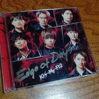 Kis-My-Ft2 - Kis-My-Ft2 Edge of Days 初回限定盤A