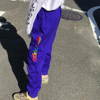 adidas - adidas originals トラックパンツ 紫