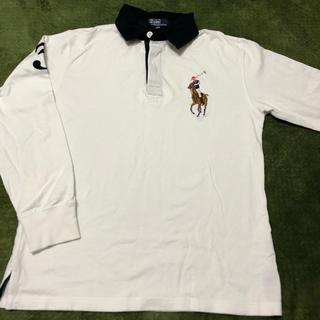 POLO RALPH LAUREN - ラルフローレン ポロシャツ 長袖 150 白
