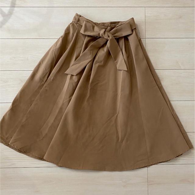 one*way(ワンウェイ)のワンウェイ トレンチスカート レディースのスカート(ひざ丈スカート)の商品写真