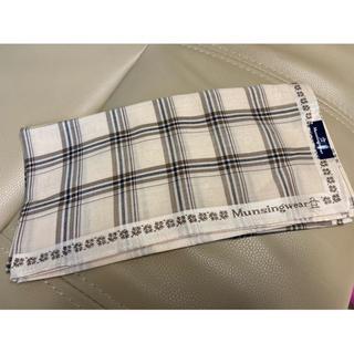 マンシングウェア(Munsingwear)のMunsingwear マンシングウェア ハンカチ ベージュ 新品未使用(ハンカチ/ポケットチーフ)