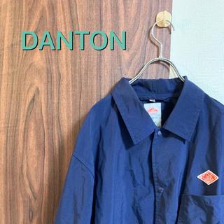 ダントン(DANTON)の【中古】DANTON/ナイロンジャケット/ライトアウター/ネイビー/カジュアル(ナイロンジャケット)