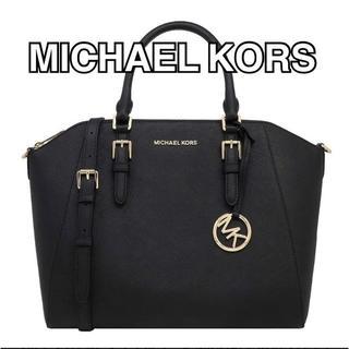 Michael Kors - 新品・MICHAEL KORS ハンドバッグ ブラック 2WAYバッグ