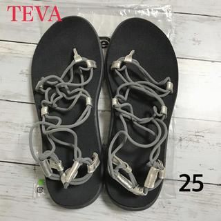 テバ(Teva)のTEVA テバ レディース ボヤインフィニティ シルバー 25(サンダル)