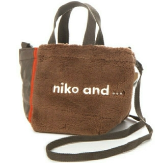 niko and... - niko and… ロゴトート/ボアショルダー