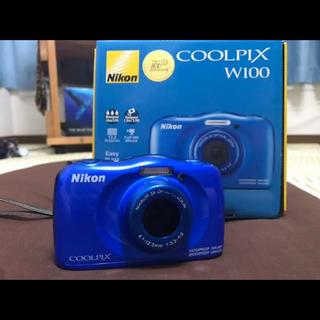 Nikon - Nikon COOLPIX w100