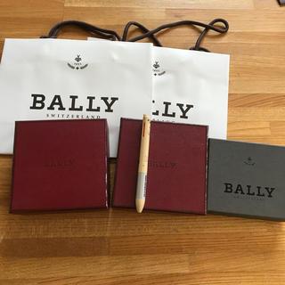 バリー(Bally)のバリーの紙袋と空き箱のセット(ショップ袋)