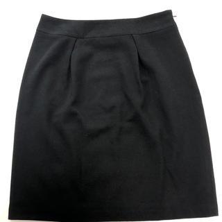 リフレクト(ReFLEcT)のリフレクト ブラック スカート  美品(ひざ丈スカート)