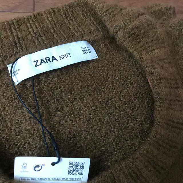 ZARA(ザラ)のZARA オーバーサイズ ニット レディースのトップス(ニット/セーター)の商品写真