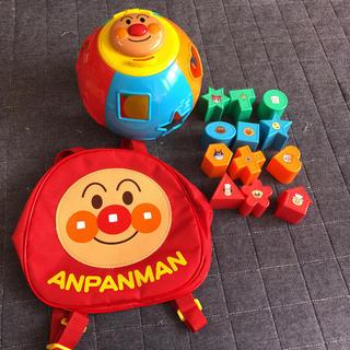 アンパンマン - アンパンマン  まるまる パズル リュック セット おもちゃ