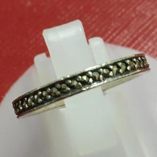 アナスイ(ANNA SUI)のアナスイ ANNA SUI リング 指輪 シルバー 黒石 エタニティ(リング(指輪))