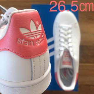 アディダス(adidas)の【レア】 希少カラー 26.5㎝ アディダス スタンスミス ホワイト ピンク(スニーカー)