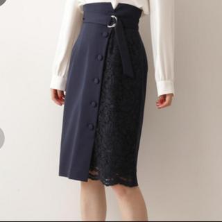 PROPORTION BODY DRESSING - PROPORTION BODY DRESSING  サイドレースタイトスカート