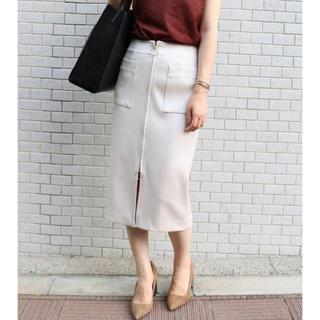 Noble - Noble T/Wダブルクロスフープジップタイトスカート
