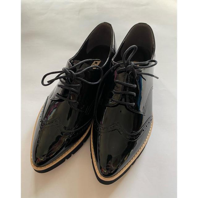 DIANA(ダイアナ)のゆゆ様専用 エナメルシューズ 新品未使用 23、5 レディースの靴/シューズ(ローファー/革靴)の商品写真