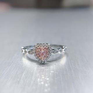 年末処理ピンクダイヤモンド♡指輪(リング(指輪))