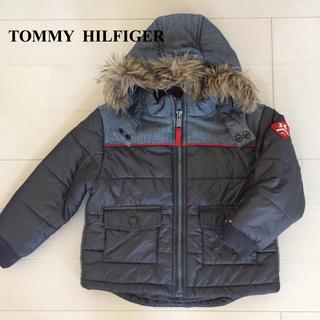 トミーヒルフィガー(TOMMY HILFIGER)のトミーヒルフィガー 4T 110 中綿ジャンパー コート ブルゾン フード(コート)