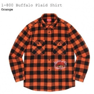 Supreme - 新品未使用 SUPREME 1-800 Buffalo Plaid Shirt