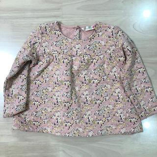 フタフタ(futafuta)のfutafuta 花柄カットソー サイズ110(Tシャツ/カットソー)