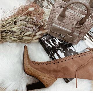 エイミーイストワール(eimy istoire)のダーリッチ スクエアドッキングバッグ 新品未使用タグ付き ベージュ(ハンドバッグ)