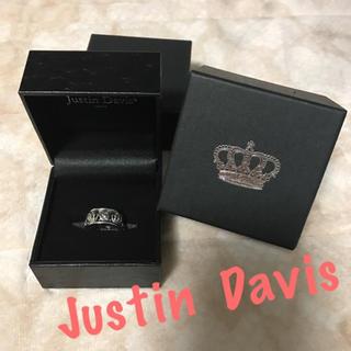 ジャスティンデイビス(Justin Davis)のJustin Davis❤️指輪 クラウン ローズ(リング(指輪))