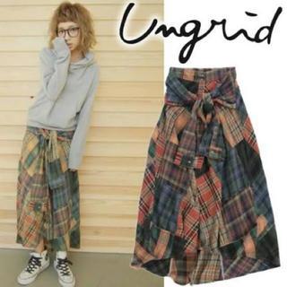 アングリッド(Ungrid)のアングリッド  パッチワークマキシスカート(ロングスカート)