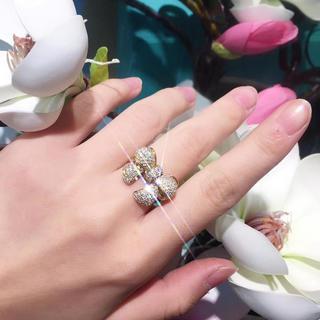 豪華リボン🎀ボリューム指輪
