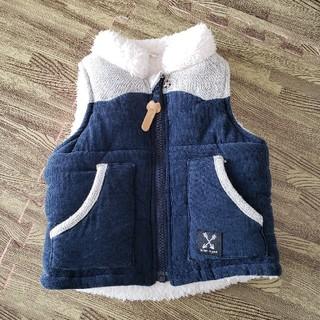 アカチャンホンポ(アカチャンホンポ)の赤ちゃん本舗 ボアベスト 80センチ(ジャケット/コート)