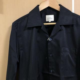 【新品タグ付き】オープンカラーシャツ 長袖 開襟シャツ Mサイズ