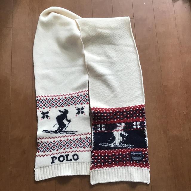 POLO RALPH LAUREN(ポロラルフローレン)のラルフローレン マフラー  メンズのファッション小物(マフラー)の商品写真