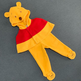 Disney - 【used】 pooh ポンチョ パンツ ディズニー