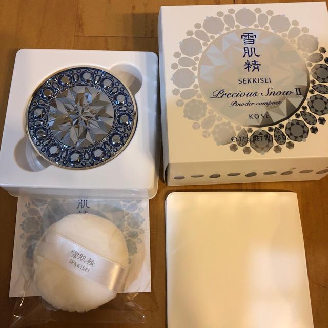 雪肌精(セッキセイ)の雪肌精 プレシャススノー Ⅱ コスメ/美容のベースメイク/化粧品(フェイスパウダー)の商品写真