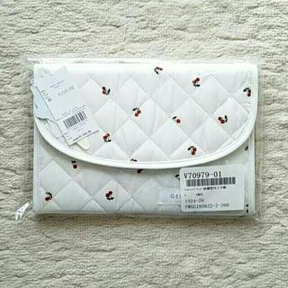 gelato pique - 新品☆ジェラート ピケ キルティング チェリー柄 横型 母子手帳ケース