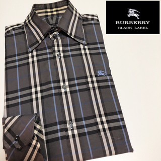 BURBERRY BLACK LABEL - 本日限定価格 バーバリーブラックレーベル シャツ S