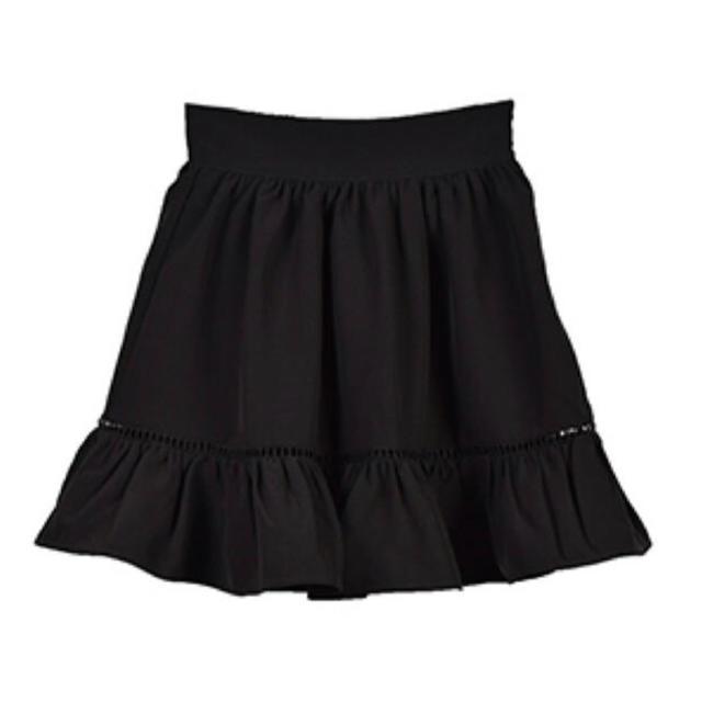 evelyn(エブリン)のevelyn チェックギャザーボリュームスカート レディースのスカート(ミニスカート)の商品写真